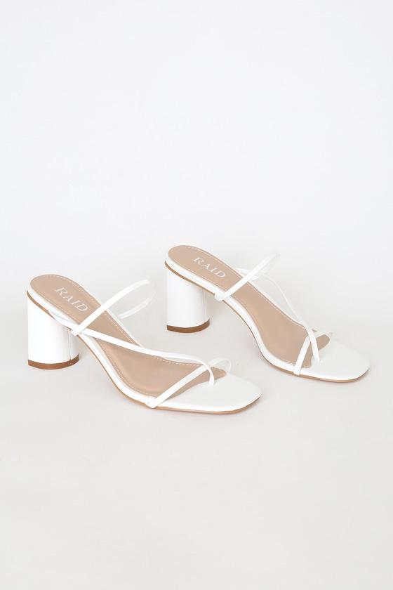 RAID Brioni - Strappy Heels - Strappy