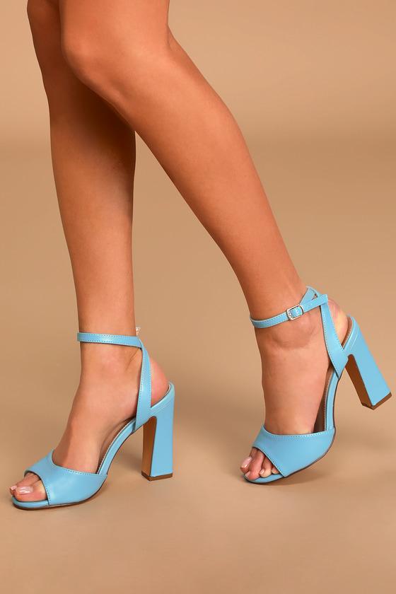 Block Heels - High Heel Sandals - Lulus