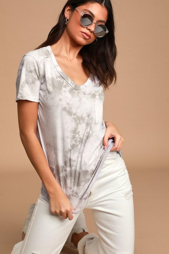 Pink Multi Tie-Dye StrapBack Cold Shoulder Short Sleeve Fluttery Blouse Top