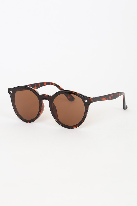 Make Your Way Tortoise Round Sunglasses