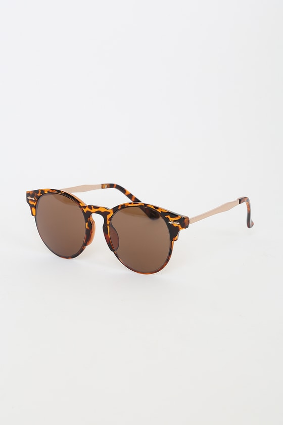 On Holiday Tortoise Sunglasses