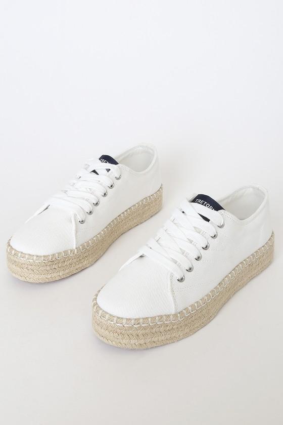 Tretorn Eve - White Sneakers