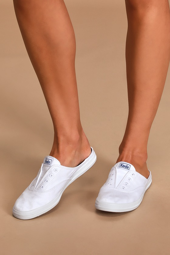 Keds Moxie Mules - White Sneakers