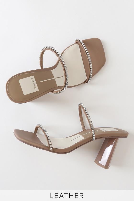 NEW dolce vita sandals TASSEL High Heel Nude Strap Ankle