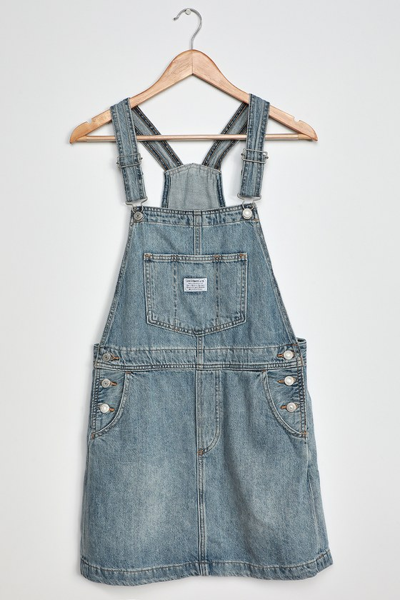 Levi's Norah Light Wash Denim Skirtall