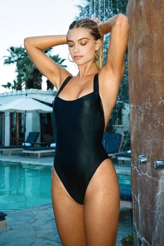 RVCA Womens Bodega One Piece Swimsuit