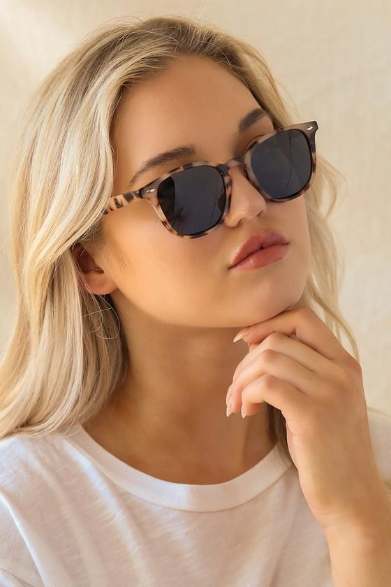 Like What I See Ivory Tortoise Sunglasses
