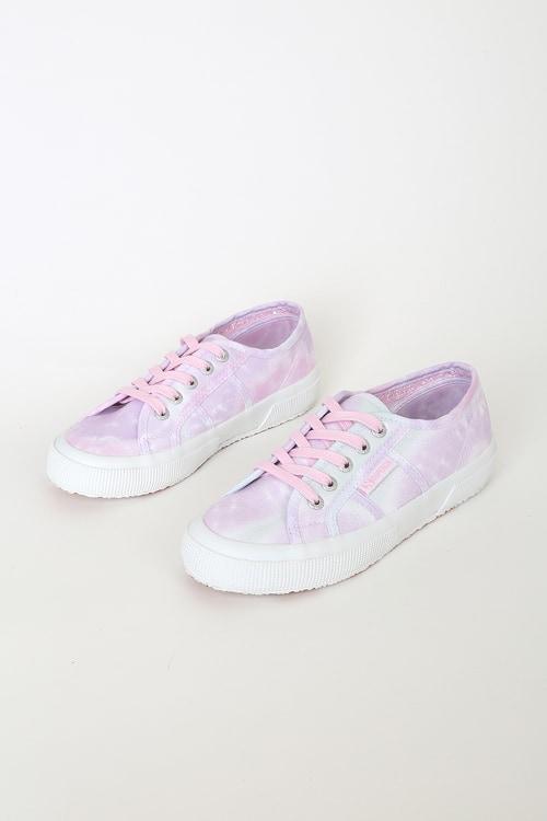Superga 2750 Fantasy Violet Tie-Dye Sneakers