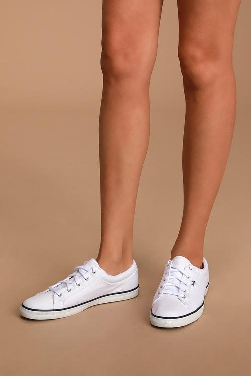 Maven Twill White Sneakers
