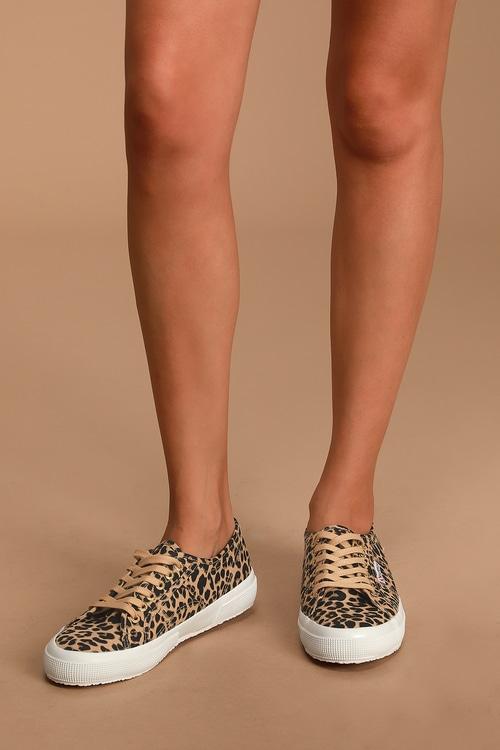 Superga 2750 Fantasy COTU Leopard Multi Sneakers
