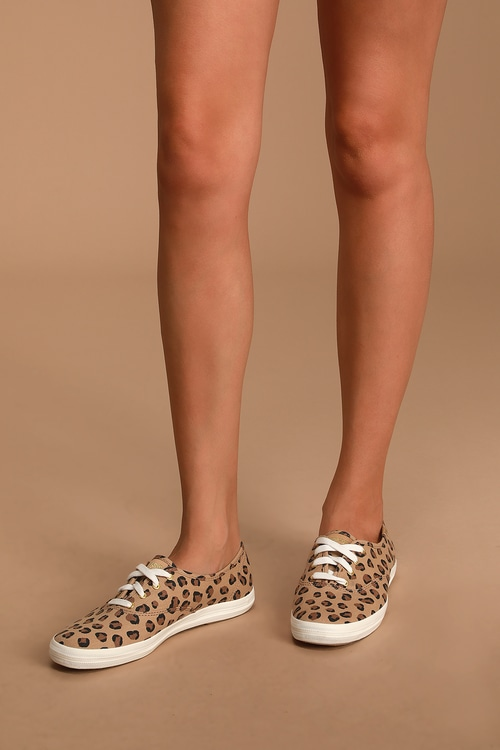 Champion Leopard Brown Sneakers