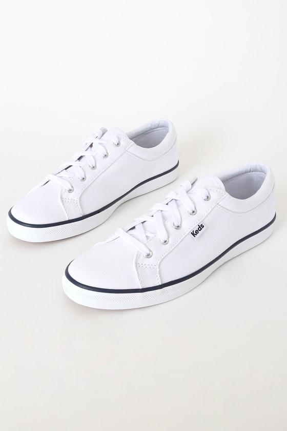 Keds Maven Twill - White Sneaker - Lace