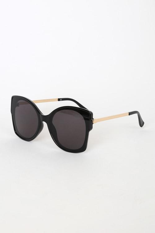 Best Views Black Oversized Sunglasses