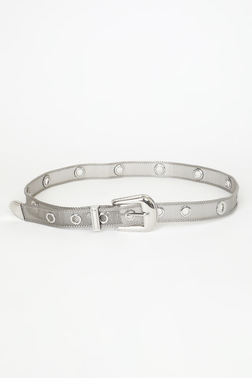 Mesh With The Best Silver Metal Mesh Belt