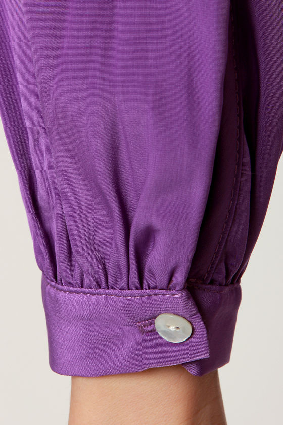 That's a Wrap Purple Long Sleeve Dress at Lulus.com!