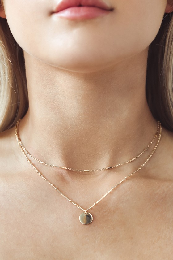 Silver Dainty Necklace Delicate Necklace LULA Necklace Rose Gold Layered Necklace Wrap Necklace Simple Chain Necklace