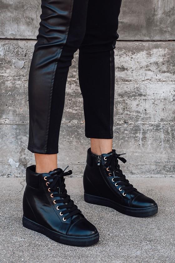 Hidden Wedge Sneakers - Lulus
