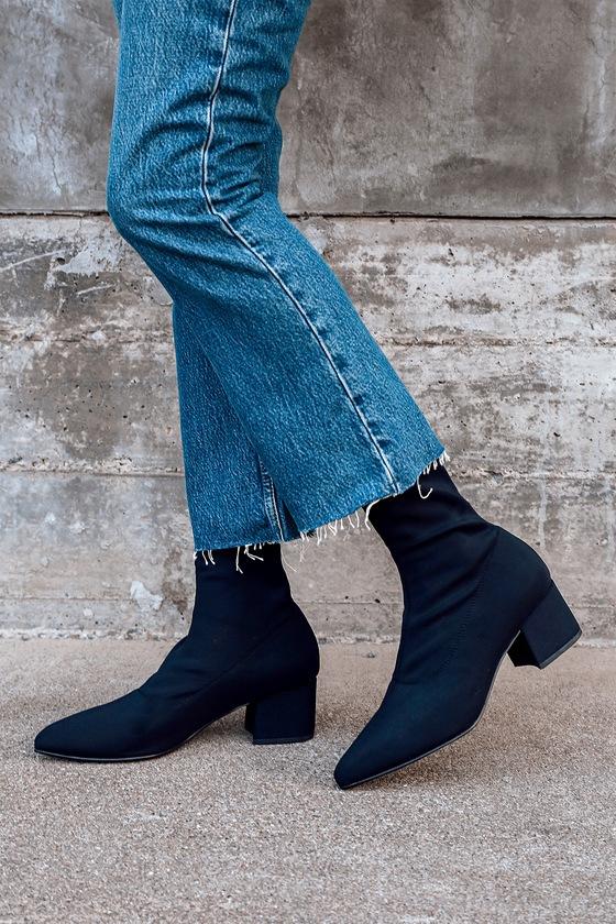 Vagabond Mya Black - Stretchy Sock