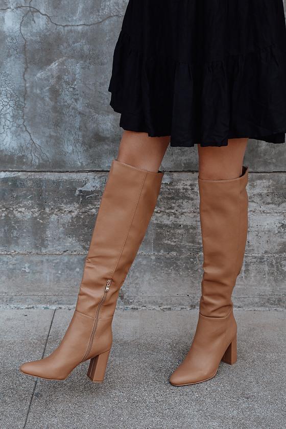 Billini Quartz Tawny - Tan Knee-High