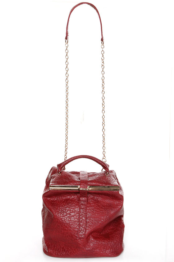Back to Cool Convertible Red Purse at Lulus.com!