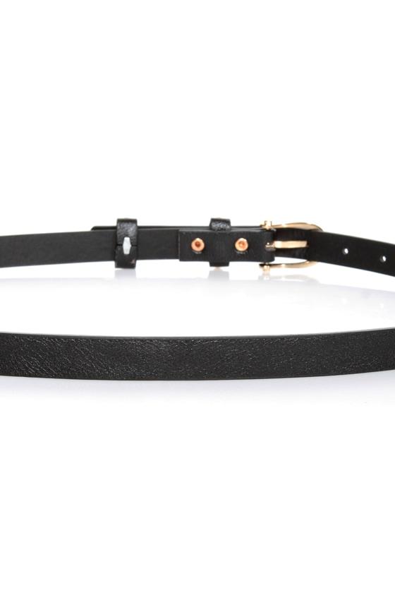 Mama Jama Black Studded Belt