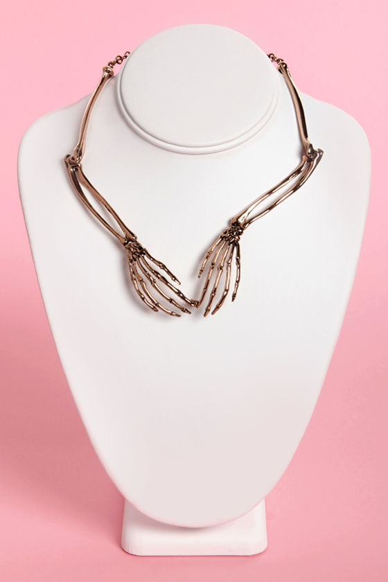 Wildfox Necklace Rose Gold Necklace Collar Necklace 11500