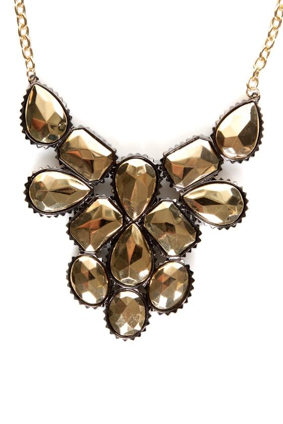 My Oh Midas Gold Statement Necklace