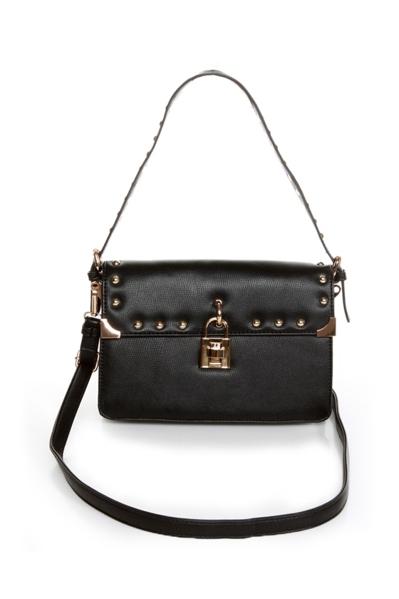 Melie Bianco Maggie Studded Purse at Lulus.com!