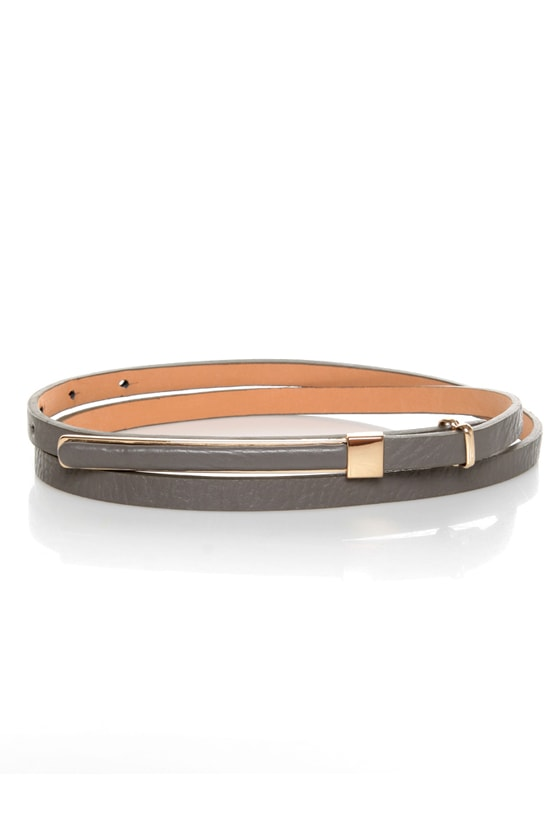 Pillow Skinny Belt at Lulus.com!