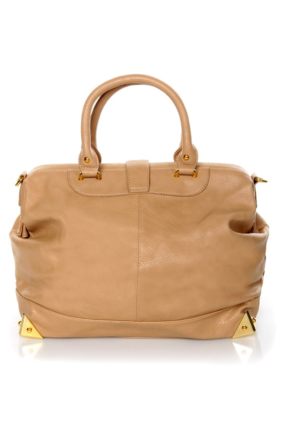 What\'s Up, Doc? Beige Handbag