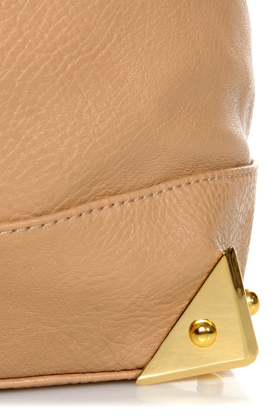 What's Up, Doc? Beige Handbag at Lulus.com!