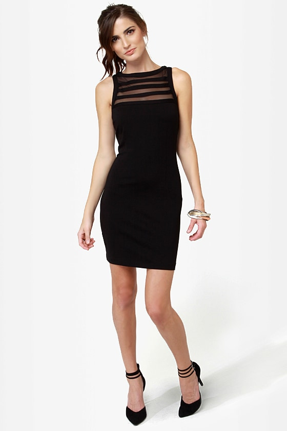 BB Dakota Sorina Cutout Black Dress at Lulus.com!