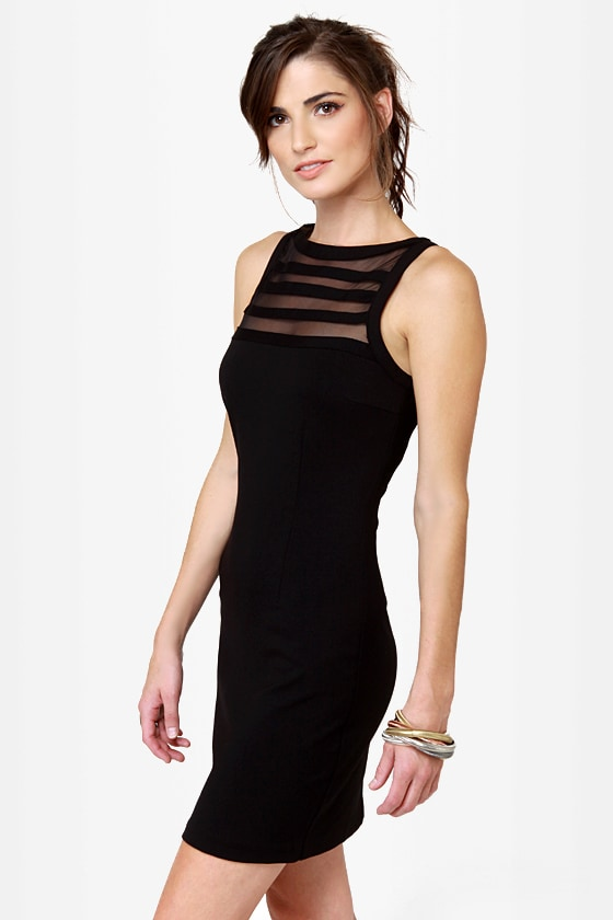 BB Dakota Sorina Cutout Black Dress