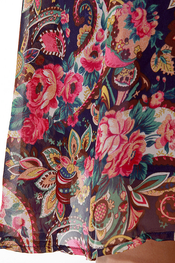 The Good Ol\' Pais Floral Print Dress