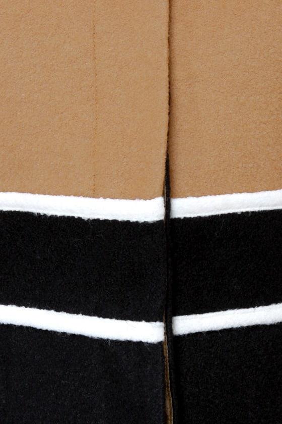 Mod About You Color Block Coat