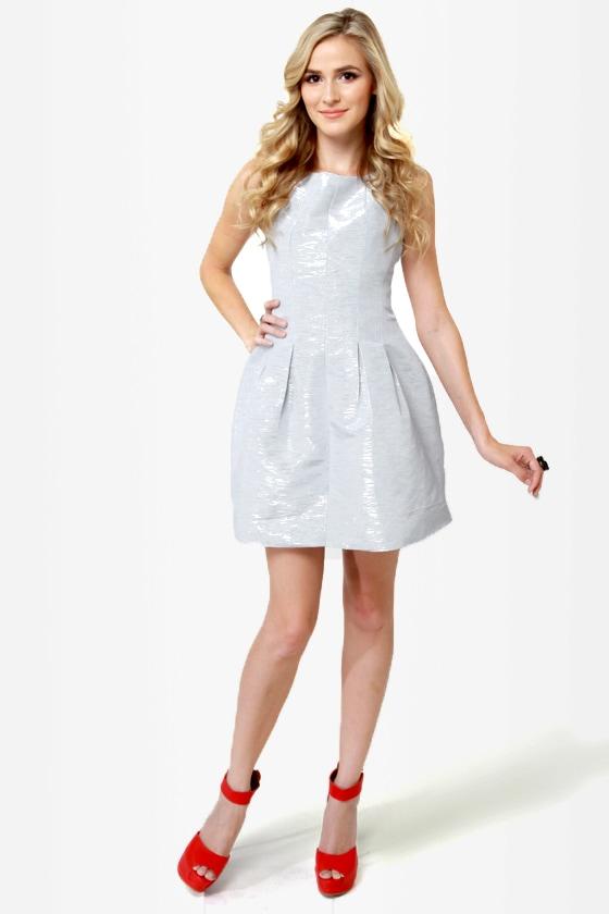 Chrome Sweet Chrome Silver Dress
