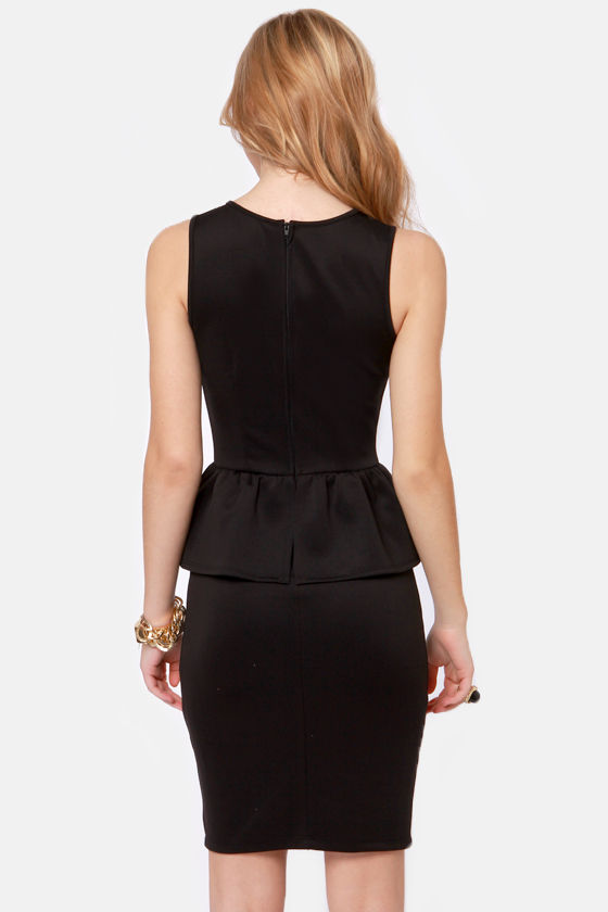Save the Date Black Lace Dress at Lulus.com!