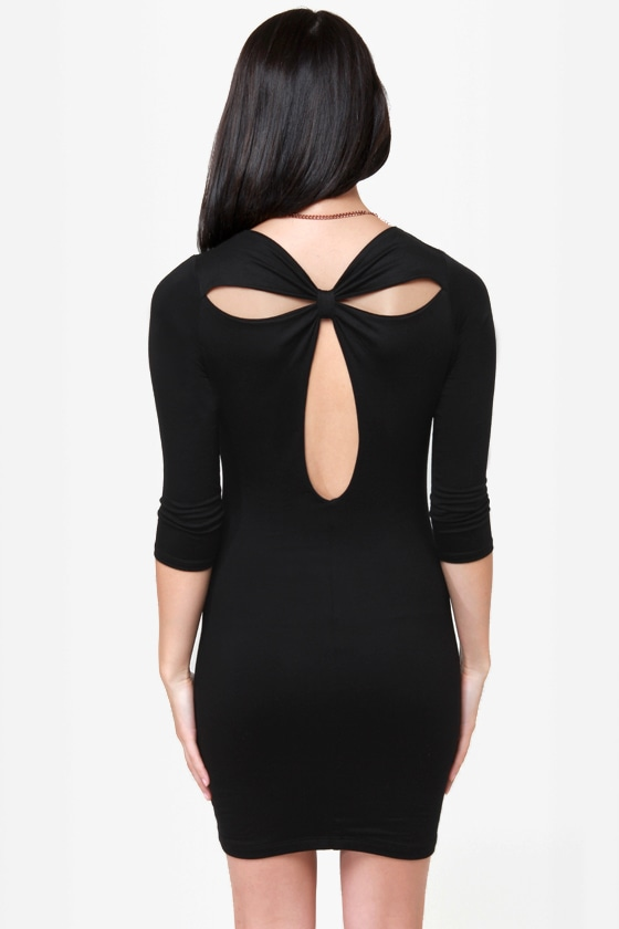 Meet and Greet Black Dress