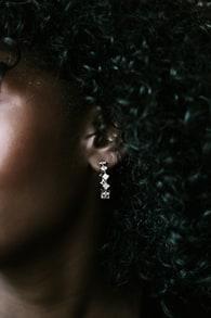 Princess Bijou 14KT Gold Rhinestone Hoop Earrings