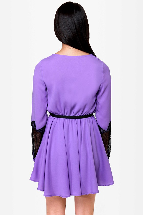 Cuffington Post Lavender Dress at Lulus.com!