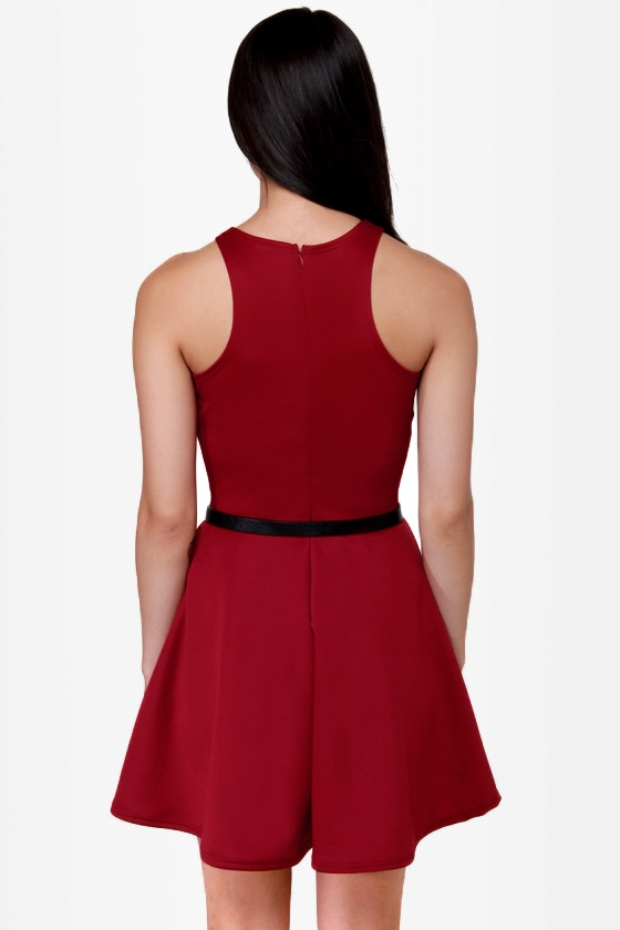 LULUS Exclusive Wanna Race? Red Dress