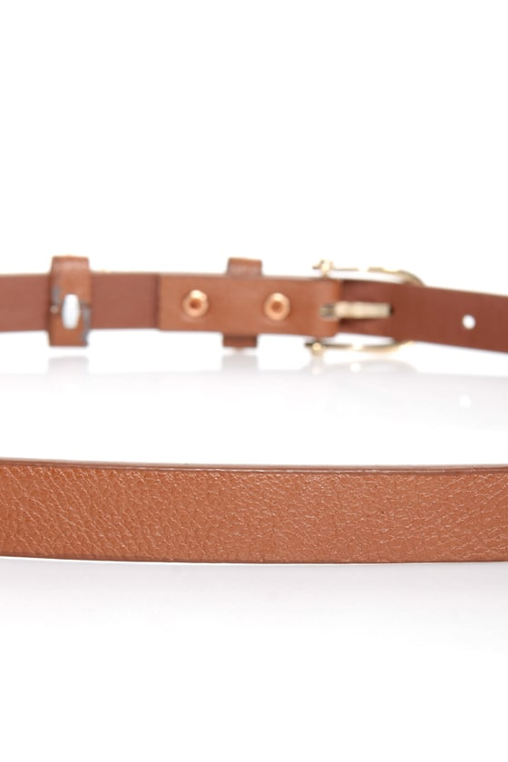 Mama Jama Brown Studded Belt