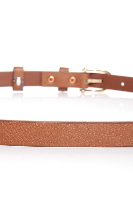 Mama Jama Brown Studded Belt