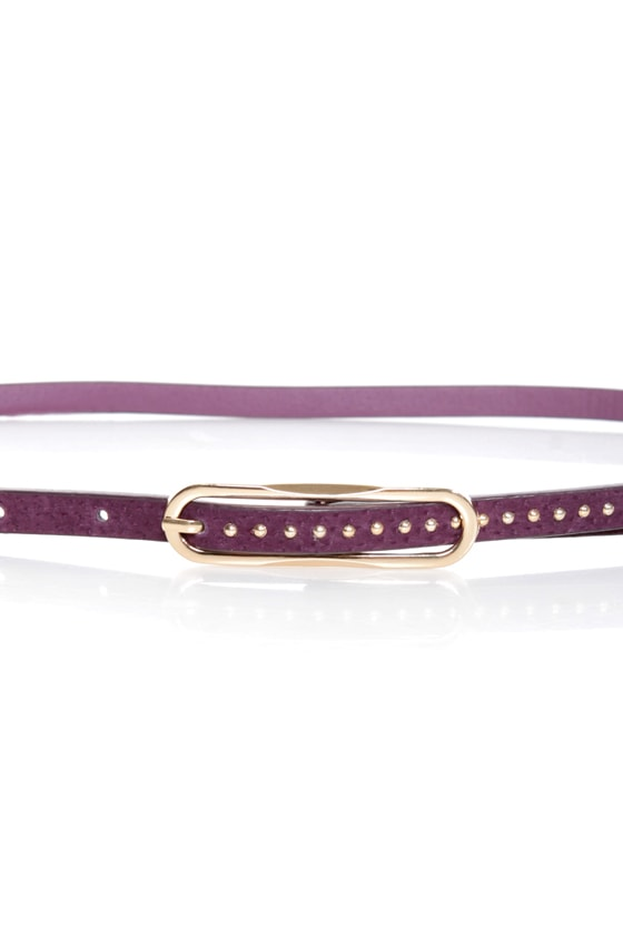 Lots of Dots Studded Skinny Belt at Lulus.com!
