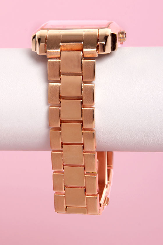 Time Bomb Rose Gold Watch at Lulus.com!