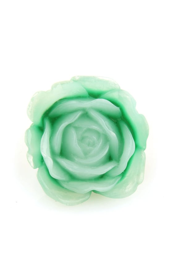 Zad Extreme Rose Mint Rose Ring at Lulus.com!