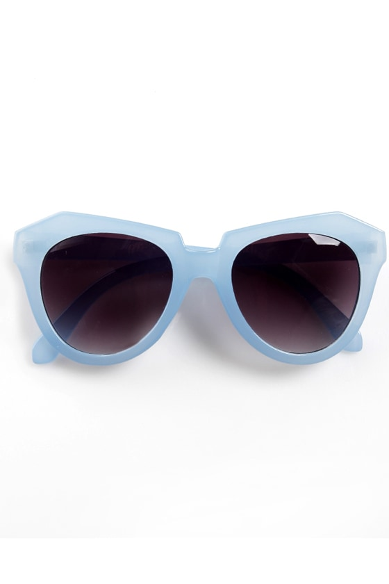 Rock Candy Blue Pastel Sunglasses