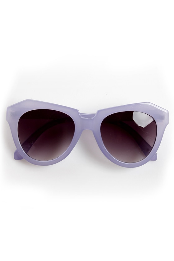 Rock Candy Purple Pastel Sunglasses at Lulus.com!