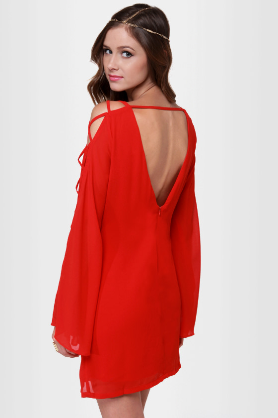 Ace of Laces Red Dress