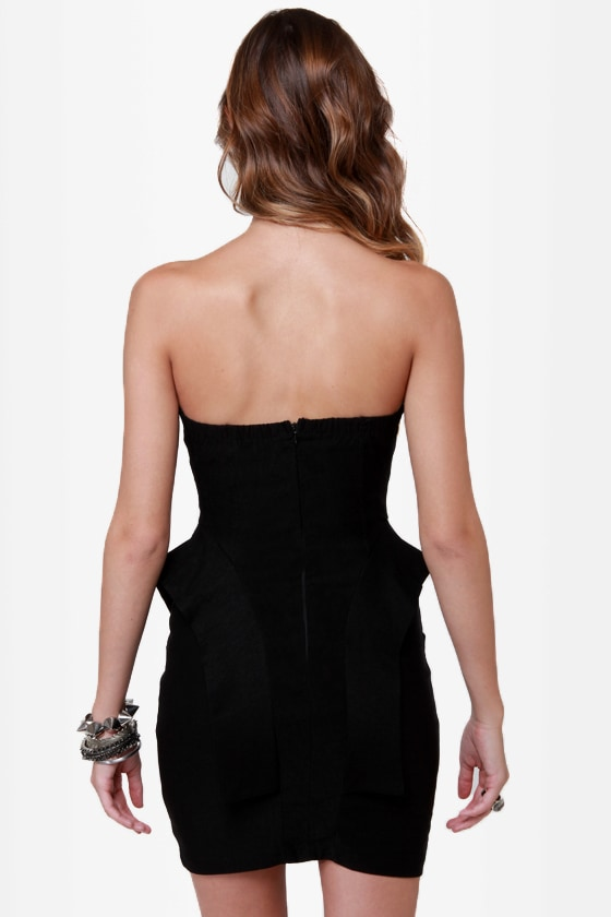 The Empire Spikes Back Studded Black Dress